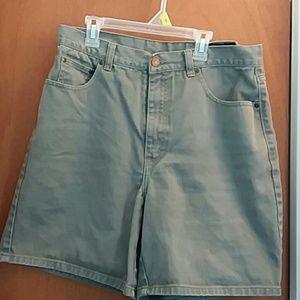 Women's Eddie Bauer Taupe Shorts Size 14